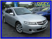 2007 Honda Accord MY06 Upgrade Euro Silver 5 Speed Sequential Auto Sedan Minto Campbelltown Area Preview