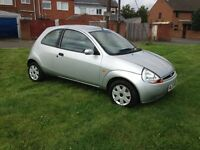 FORD KA Low Mileage 1.3 Silver 3 door CHEAP INSURANCE & TAX and Excellent MPG FULL MOT