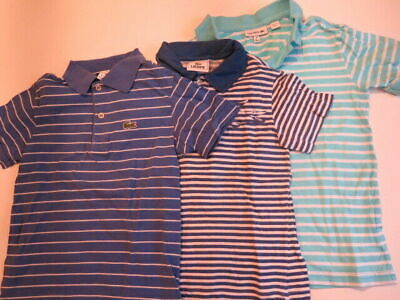 Lacoste Boys T- Shirt Lot Size 6,     Condition Is Pre-Owned