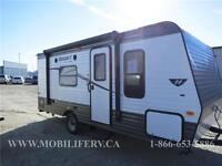 **CLEARANCE! **LIGHTWEIGHT! **COUPLES+ TRAVEL TRAILER FOR SALE!