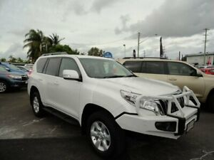 2015 Toyota Landcruiser Prado KDJ150R MY14 GXL White 5 Speed Sports Automatic Wagon West Ballina Ballina Area Preview