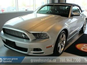 2013 Ford Mustang 5.0L GT CONVERTIBLE-AUTO LEATHER LOADED