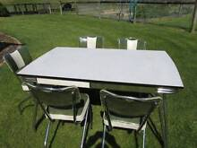Vintage Laminex Kitchen table & 5 chairs  50 / 60s Nicholson East Gippsland Preview