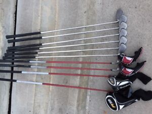* Vente rapide!!! * Fers Ping G15 - Bois Taylormade R9 Gaucher