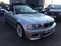 BMW M3 3.2 Sequential M3 Convertible 2004 04 Reg
