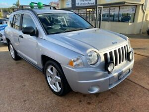 2008 Jeep Compass MK Limited Silver Continuous Variable Wagon Port Macquarie Port Macquarie City Preview