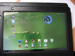 ACER 10.1 Tablet - good condition and with leatherette cover