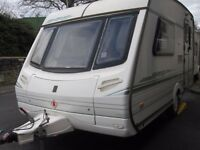 Abbey Vogue Two Berth Touring Caravan