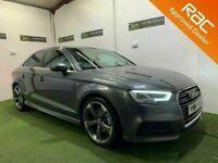 Late 2016 Audi A3 2.0 TDI S Line 150bhp Saloon Auto **Finance & Warranty** (golf,aclass,a4)