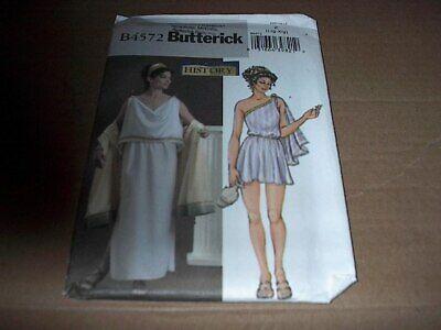Greek Costume Patterns (Butterick Pattern 4572 ~ Misses' Roman Greek Goddess Costume Size L, XL )