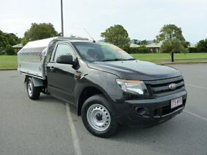 2014 Ford Ranger PX XL 4x2 Black 6 Speed Manual Cab Chassis Westcourt Cairns City Preview