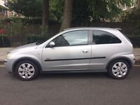 Vauxhall Corsa SXI 1.2 16V 72k Genuine milage very low! 2003 53PLATE SILVER for sale £800! ono