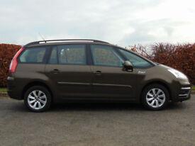 CITROEN C4 GRAND PICASSO 1.6 EDITION HDI 5d 110**7 seater** (bronze) 2013