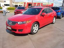2010 Honda Accord 10 Euro Red 5 Speed Automatic Sedan Strathpine Pine Rivers Area Preview