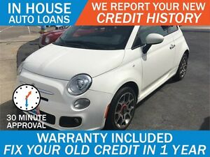 FIAT 500 SPORT - HIGH RISK LOANS - APPROVED IN 30 MINUTES!