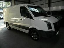 2010 Volkswagen Crafter 2EF1 MY10 35 MWB White 6 Speed Sports Automatic Van Molendinar Gold Coast City Preview