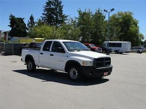 2003 DODGE RAM 1500 ST CREW CAB SHORT BOX 2WD