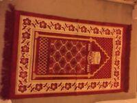 small red beautiful carpet