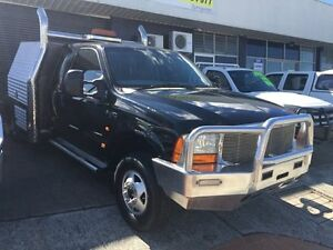 2004 Ford F350 RN XL (4x4) Black 4 Speed Automatic Extracab Loganholme Logan Area Preview
