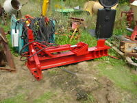 Used Log Splitters – 3PT or Trailer Mounted