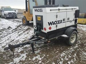 Wacker 20kw Generator Edmonton Edmonton Area image 3