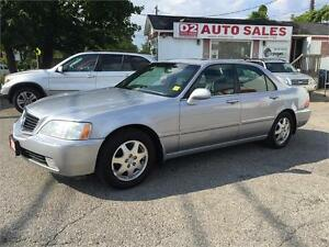 2002 Acura RL Very Luxurious/Leather/Roof/Loaded/Certified