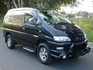 2005 Mitsubishi Delica Spacegear High Roof 8seats Black 4 Speed Automatic Wagon Taren Point Sutherland Area Preview