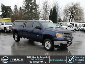 2013 GMC SIERRA 2500HD SLE CREW CAB SHORT BOX 4X4