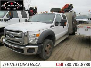 2012 Ford Super Duty F-550 with Palfinger PK6501 Boom Crane