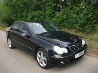 ONLY 74,000 MILES 56 reg Mercedes c180 avantgarde se FULL SERVICE HISTORY