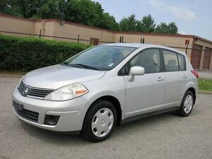 2007 Nissan Versa SPORT-ONE OWNER-ONLY 113,000KM-----6 SPEED