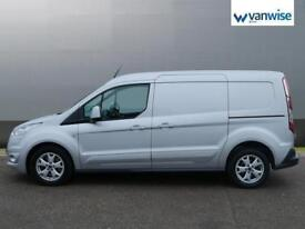 2015 Ford Transit Connect 1.6 TDCi 115ps Limited Van Diesel silver Manual