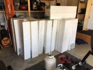 Styrofoam Insulation panels
