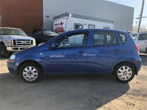 2005 Chevrolet Aveo LT = 156K = STICK = LOADED = SUNROOF......