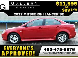 2012 Mitsubishi Lancer SE $99 BI-WEEKLY APPLY NOW DRIVE NOW