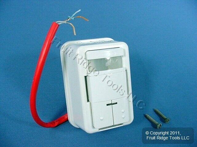 Leviton Lonworks White Occupancy Motion Sensor Switch L779-T