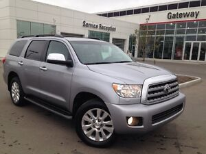 2013 Toyota Sequoia Platinum - Only 60K! Fully Loaded!