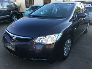 2007 Honda Civic VTi Purple Automatic Sedan Homebush Strathfield Area Preview