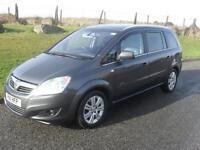 Vauxhall/Opel Zafira 1.8i 16v VVT ( 140ps ) 2011.5MY Elite74050 Mls MOT 21/2/18