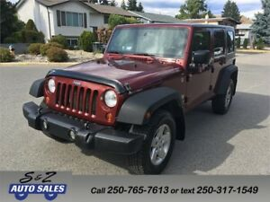2008 Jeep Wrangler Unlimited 4x4 3 YEAR WARRANTY!