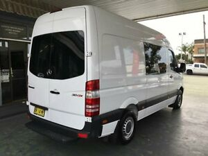 2012 Mercedes-Benz Sprinter NCV3 MY12 313CDI White 7 Speed Sports Automatic Van Hamilton Newcastle Area Preview