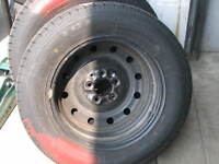 Four Winter Rims and Tires For Sale