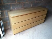 IKEA Malm 6 Drawer chest of drawers