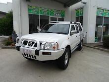 2006 Nissan Navara D22 ST-R (4x4) White 5 Speed Manual Dual Cab Pick-up Claremont Meadows Penrith Area Preview