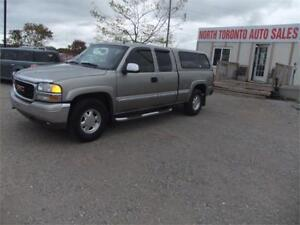 2002 GMC Sierra 1500 SLT 4x4 LEATHER SEATS 5.3 LITRE ENGINE