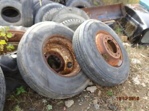 6 tires whith rims  for sale