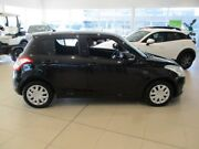 2012 Suzuki Swift FZ GL Black 5 Speed Manual Hatchback Gungahlin Gungahlin Area Preview