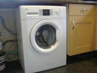 BEKO WASHING MACHINE 7kg 1400RPM SPIN - WHITE - NEARLY NEW - PERFECT WORKING ORDER