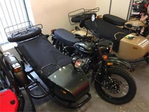 URAL GEAR UP  VERT METALIQUE - 1500 de rabais