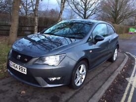 64 PLATE SEAT IBIZA FR EDITION TSI 1.2 GREY 19,000 MILES ON THE CLOCK IMMACULATE CONDITION